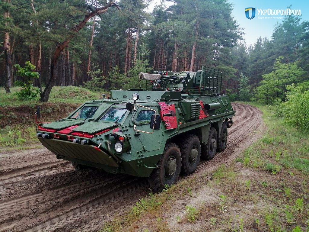 Бронетранспортер БТР-4Е. Фото: «Укроборонпром»