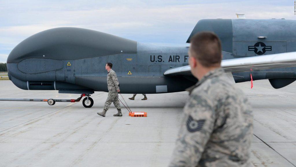 RQ-4 Global Hawk. Фото з відкритих джерел