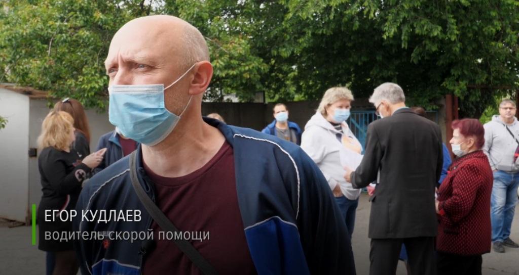 Єгор Кудлаєв - один з учасників протесту, який визнав участь у війні на Донбасі.
