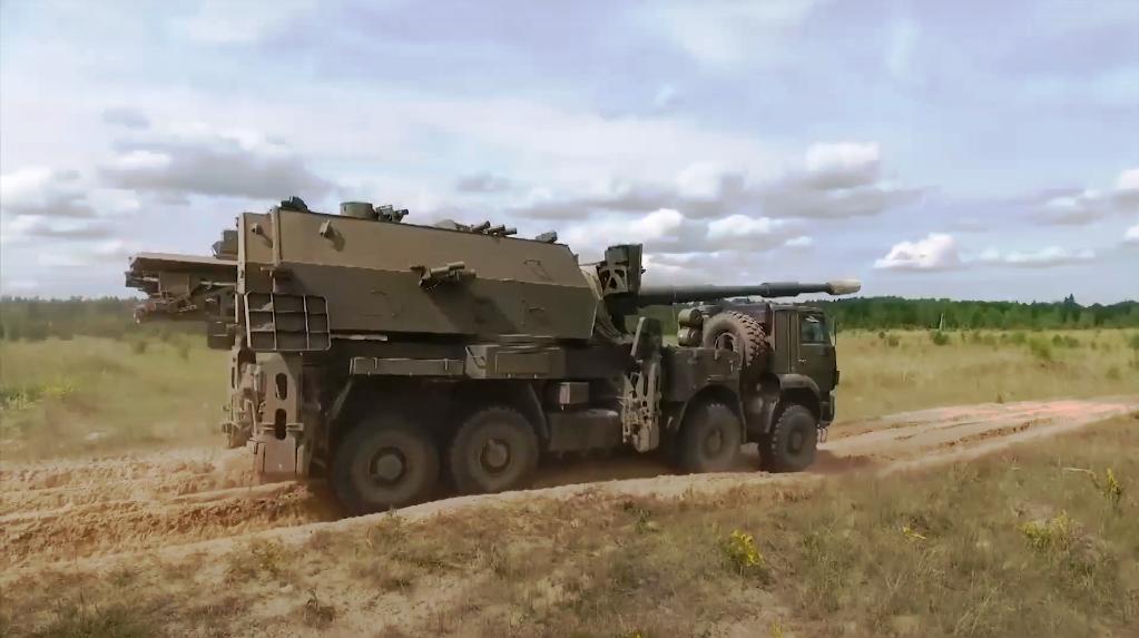 «Коаліція-СВ» на базі автомобіля КамАЗ-6550