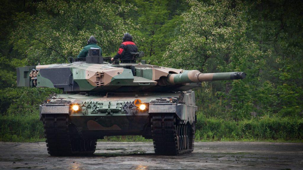 Leopard 2PL. Фото: Polska Grupa Zbrojeniowa