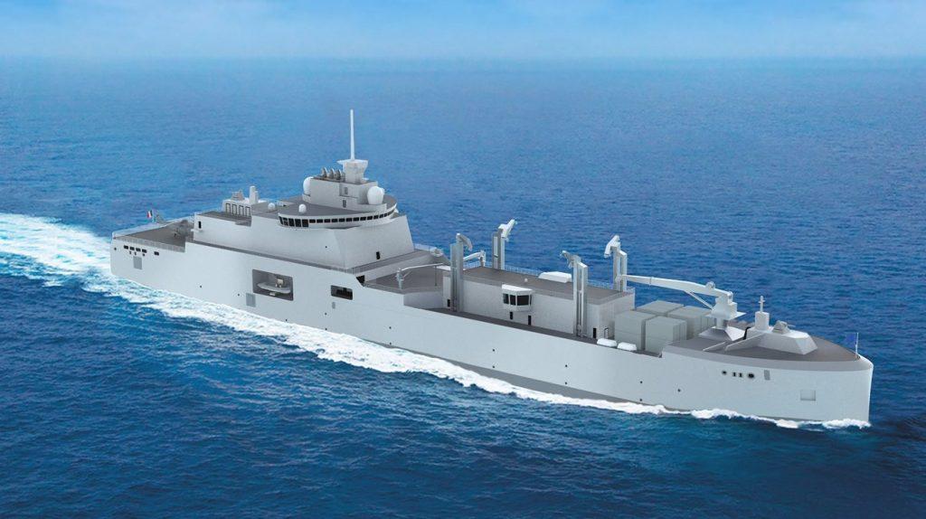 Корабель типу Bâtiments Ravitailleurs de Force