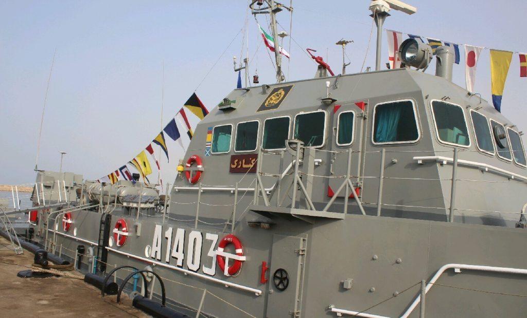 Судно А1403 Konarak ВМС Ірану. Фото з відкритих джерел