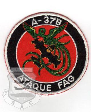 Патч A-37B ATAQUE FAG