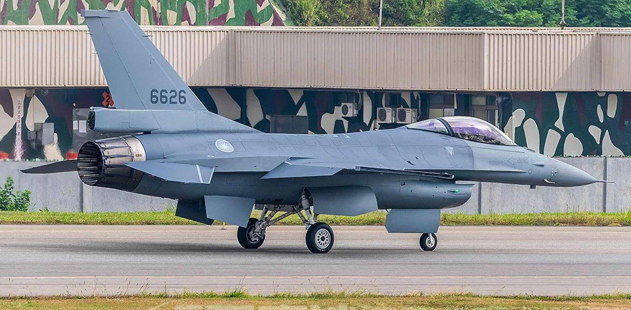 Багатоцільовий літак F-16 ВПС Тайваню