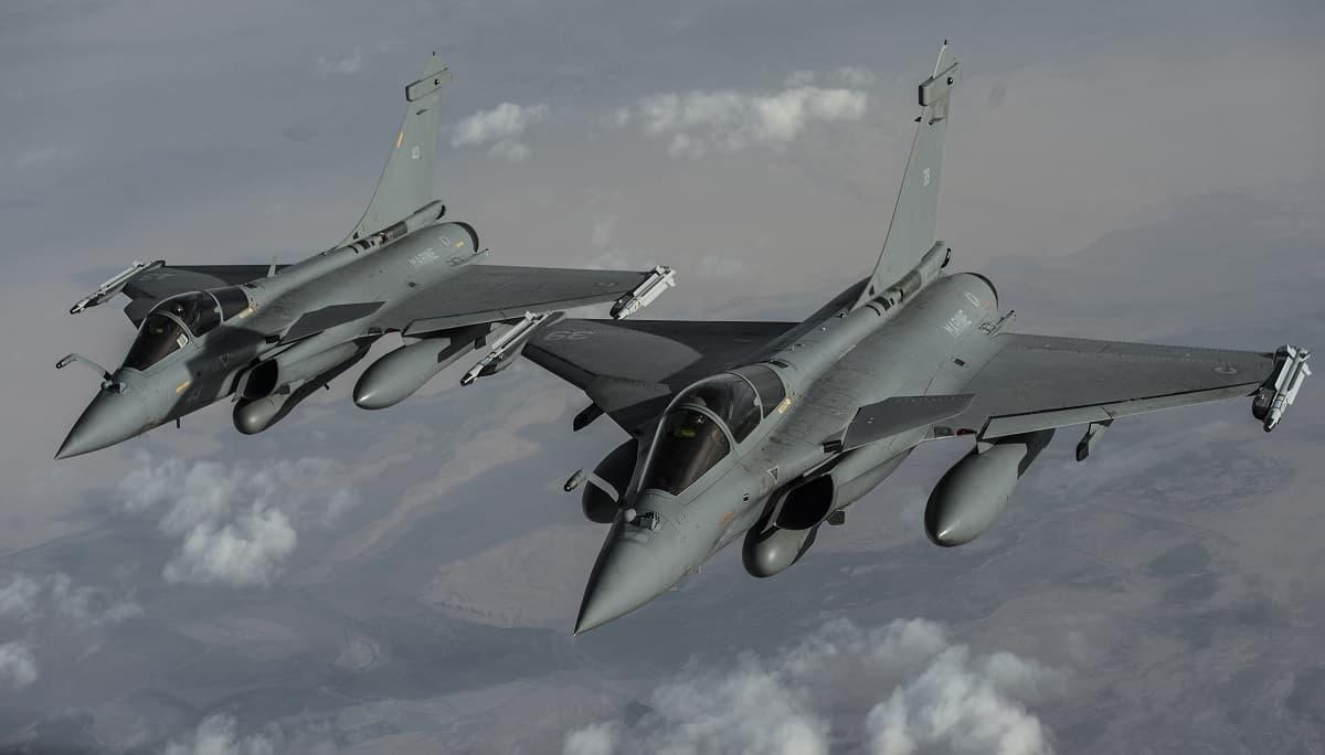 Французькі винищувачі Dassault Rafale