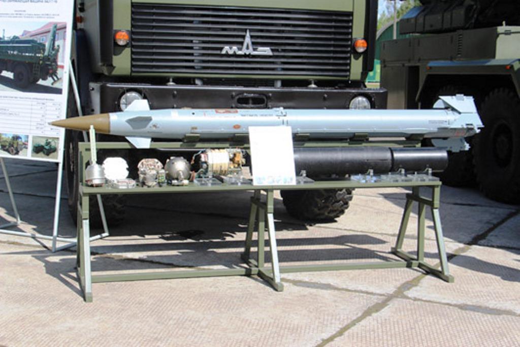 Ракета до ЗРК «Оса» Білорусі рівня 9А33-2Б. Фото: ЗМІ Білорусі