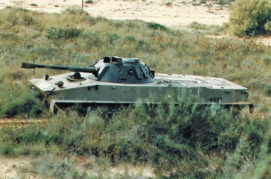Модернізований ПТ-76 морської піхоти Індонезії