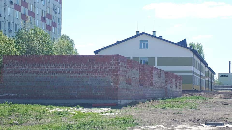 Недобудована казарма поліпшеного планування у 17-й танковій бригаді