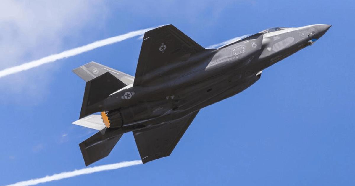 Винищувач F-35. Фото з відкритих джерел