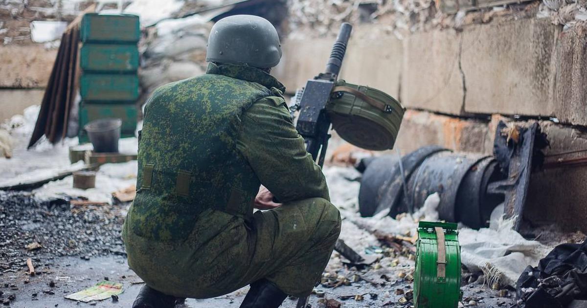 Бойовик РФ з АГС-17
