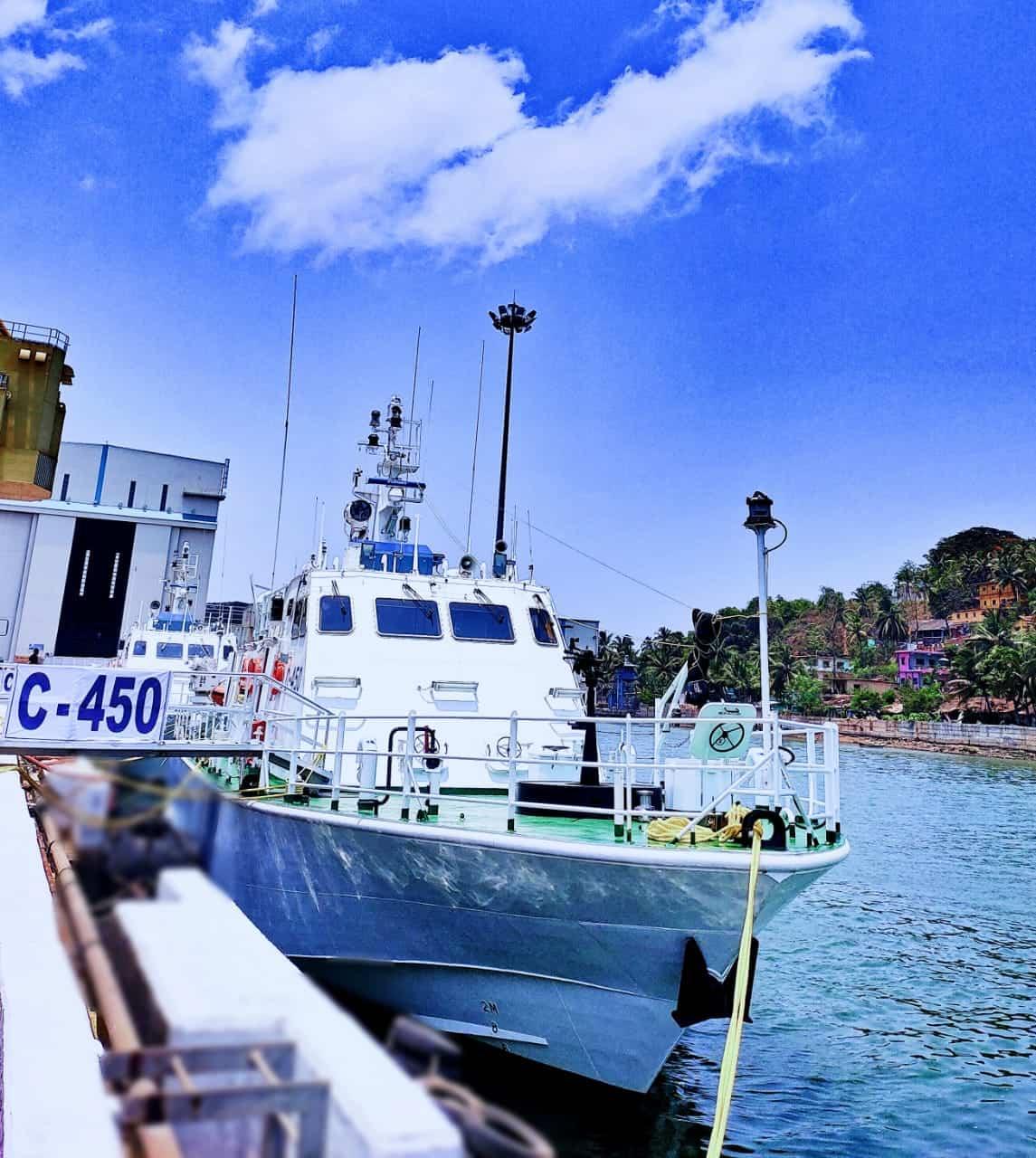 Патрульний катер C-450 Берегової охорони Індії