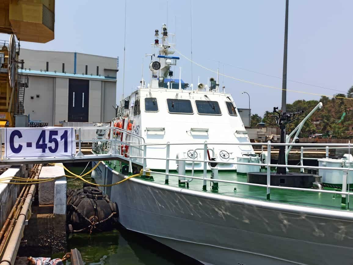 Патрульний катер C-451 Берегової охорони Індії
