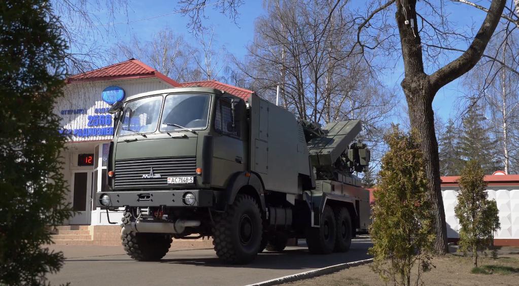 ЗРК «Оса» Білорусі рівня 9А33-2Б. Фото: ЗМІ Білорусі