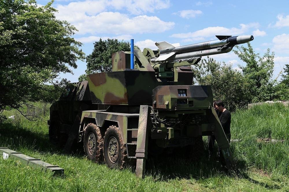 Сербський ЗРК PASARS з модернізованою ракетою
