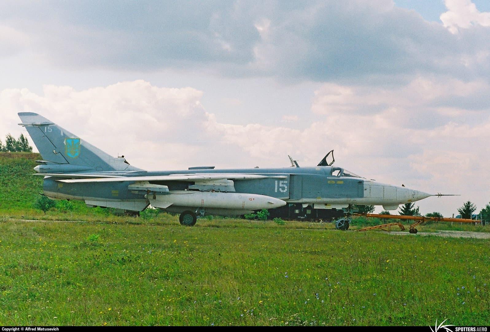 Су-24МП зі 118 ОАП РЕБ