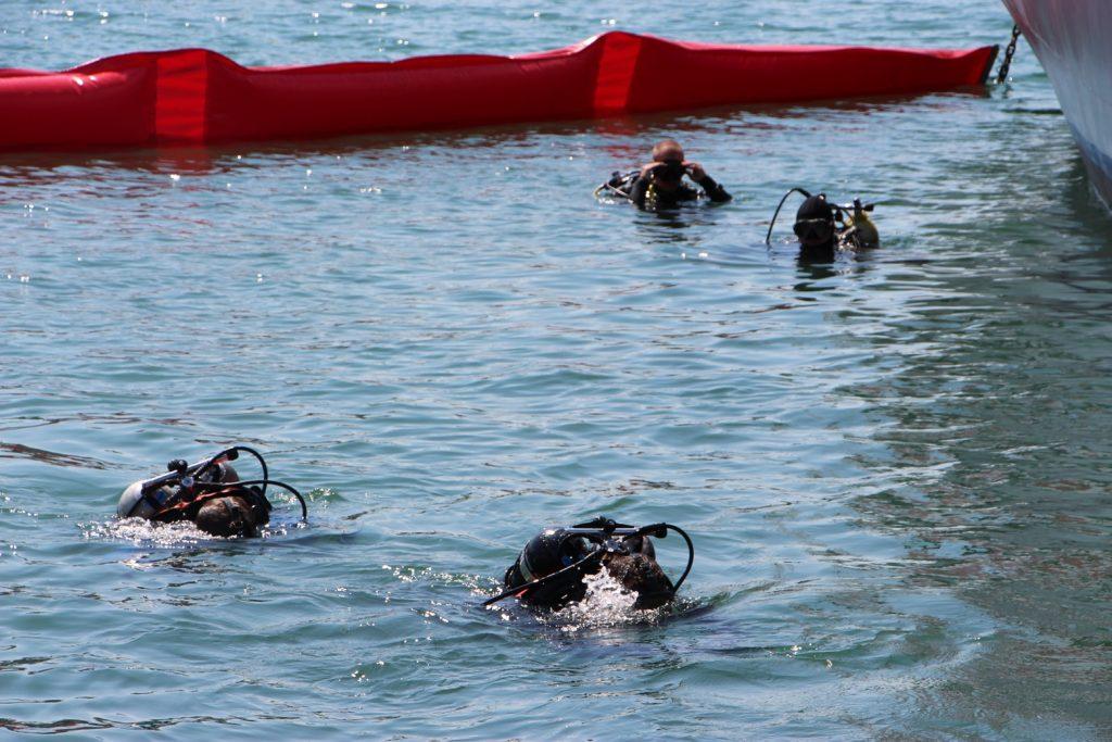 Тренування водолазів в Одесі