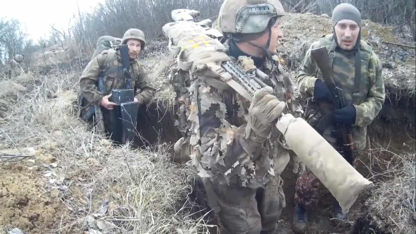 Військовослужбовці ФСБ Росії під час перебування на окупованій частині Донбасу 1