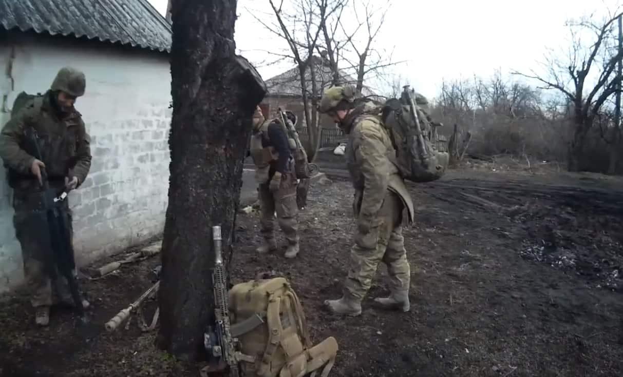 Військовослужбовці ФСБ Росії під час перебування на окупованій частині Донбасу