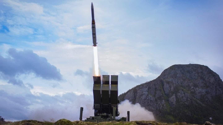 Запуск ракети з NASAMS