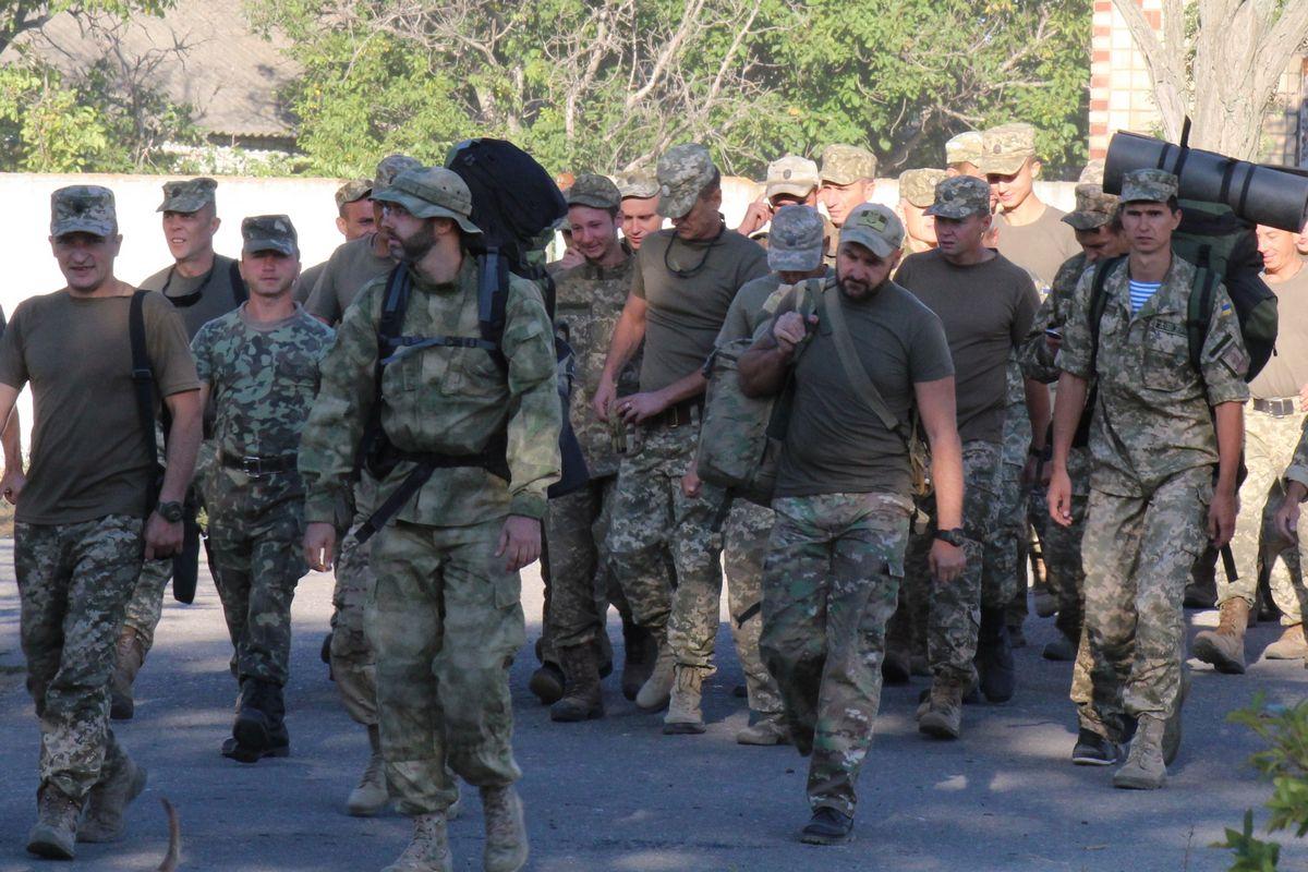 Збори оперативного резерву у 79-й бригаді ДШВ