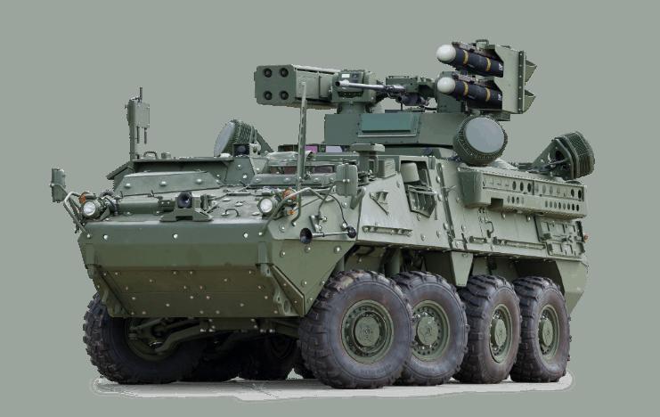 ЗРК малої дальності IM-SHORAD на шасі БТР Stryker