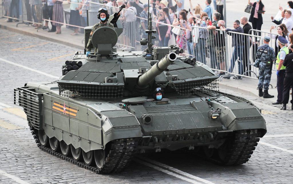 Танк Т-90М (червень 2020). Фото: ЗМІ РФ