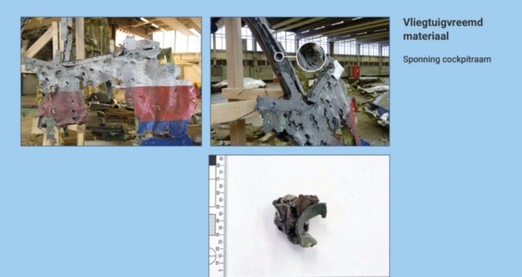 Фото з матеріалів слідства по справі MH17