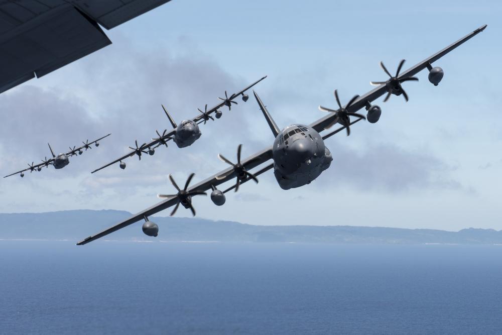 Літак MC-130J Commando II. Фото: www.pacaf.af.mil