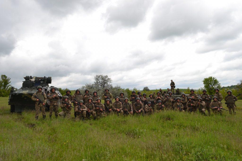 Курсанти під час навчань. Фото: Військовий інститут