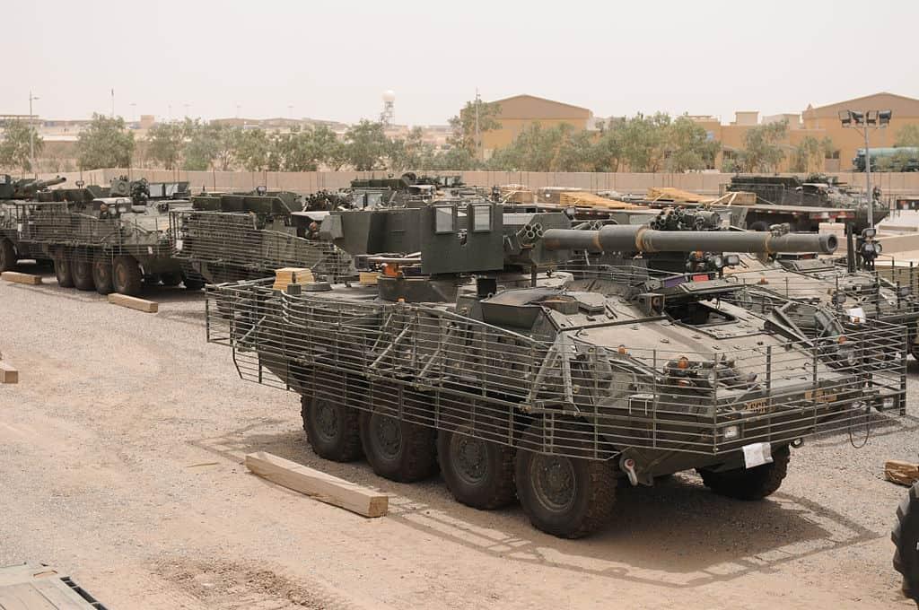 M1128 Mobile Gun System. Фото з відкритих джерел