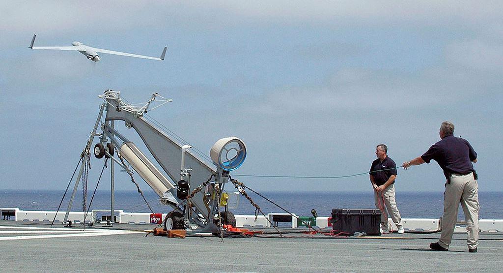 Пуск розвідувального безпілотника ScanEagle. Фото з відкритих джерел