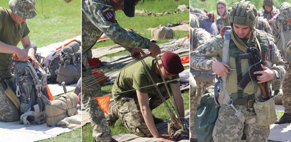 Підготовка до стрибків 95 окремої десантно-штурмової бригади. Фото: ДШВ