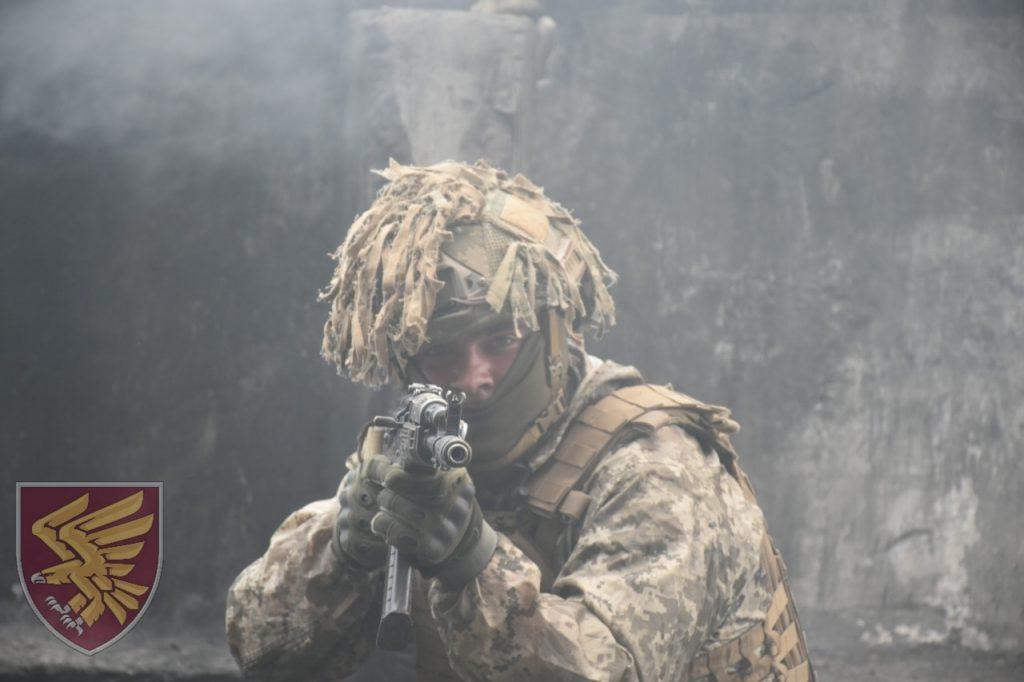 Навчання 95 окремої десантно-штурмової бригади. Фото: ДШВ