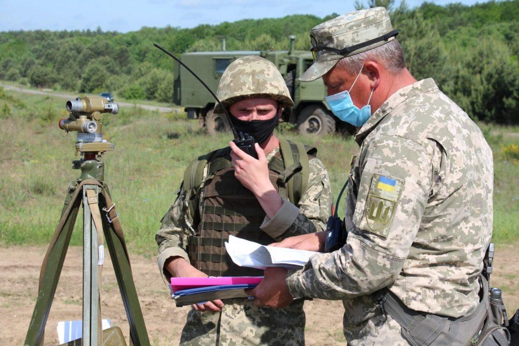 Фото з іспиту курсантів-артилеристів. Фото: АрміяInform
