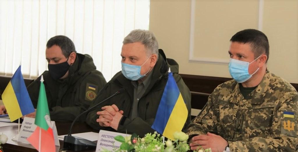 Андрій Таран (по центру). Фото: Міська рада Кривого Рогу