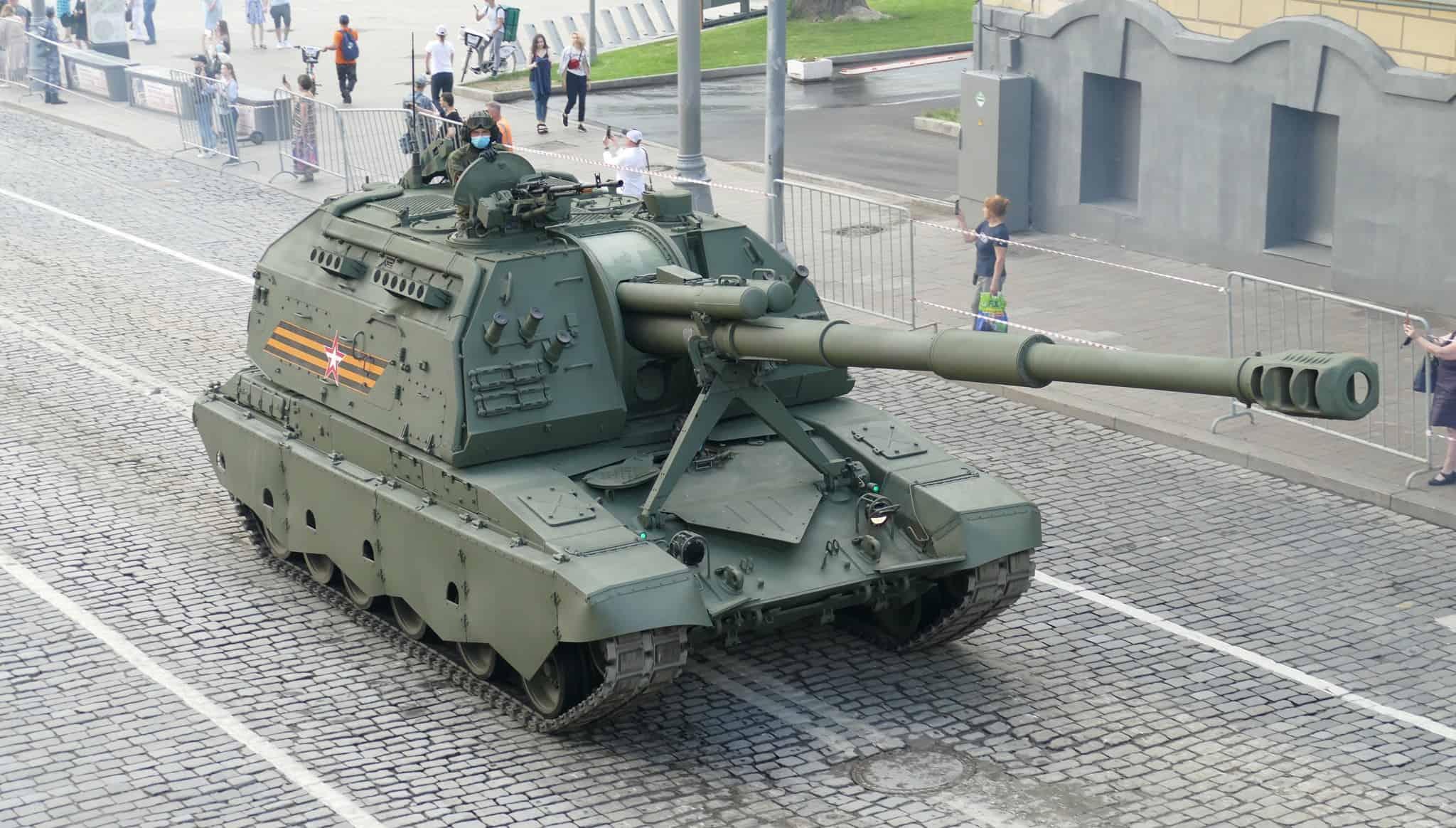 """2С19М2 """"Мста-СМ (червень 2020). Фото: ЗМІ РФ"""