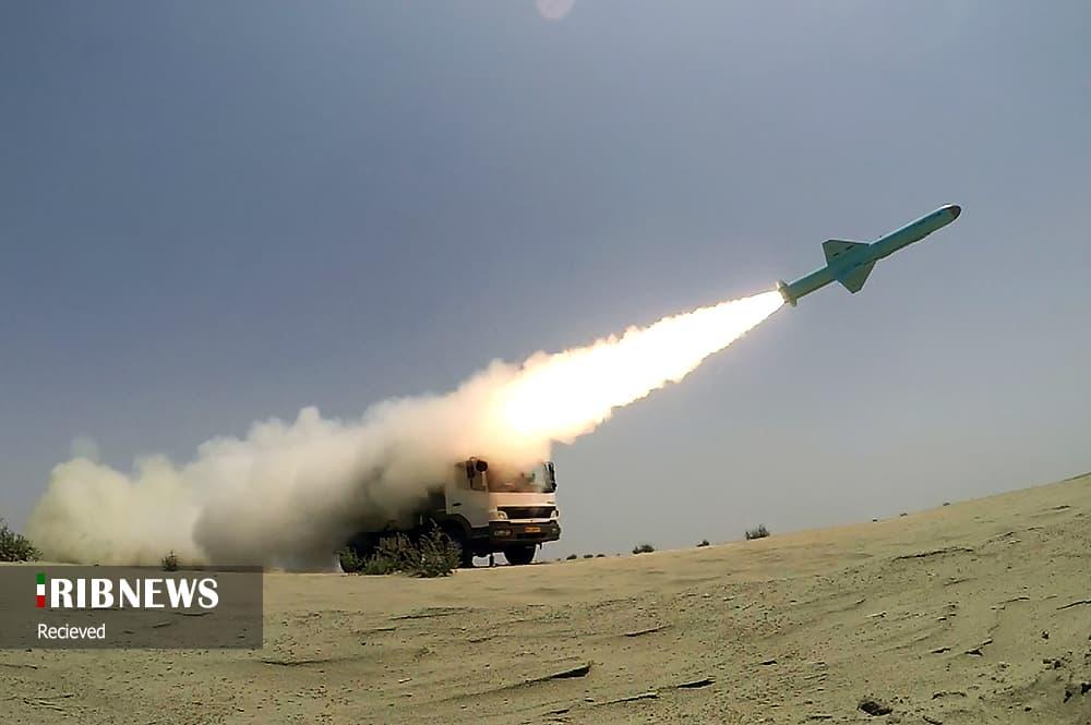 Випробування іранських протикорабельних ракет. Фото: ЗМІ Ірану
