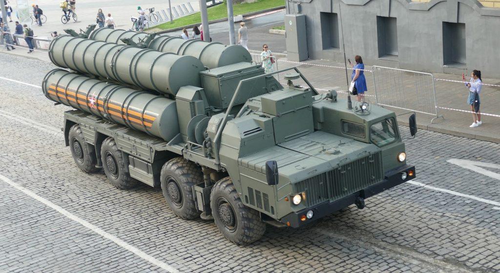 """С-400 """"Триумф (червень 2020). Фото: ЗМІ РФ"""