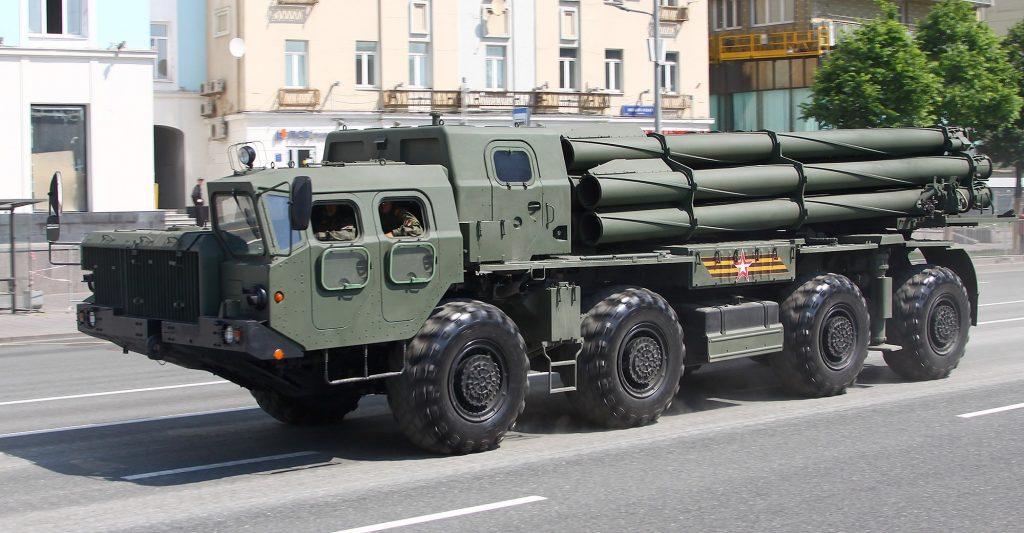"9К515 ""Торнадо-С (червень 2020). Фото: ЗМІ РФ"