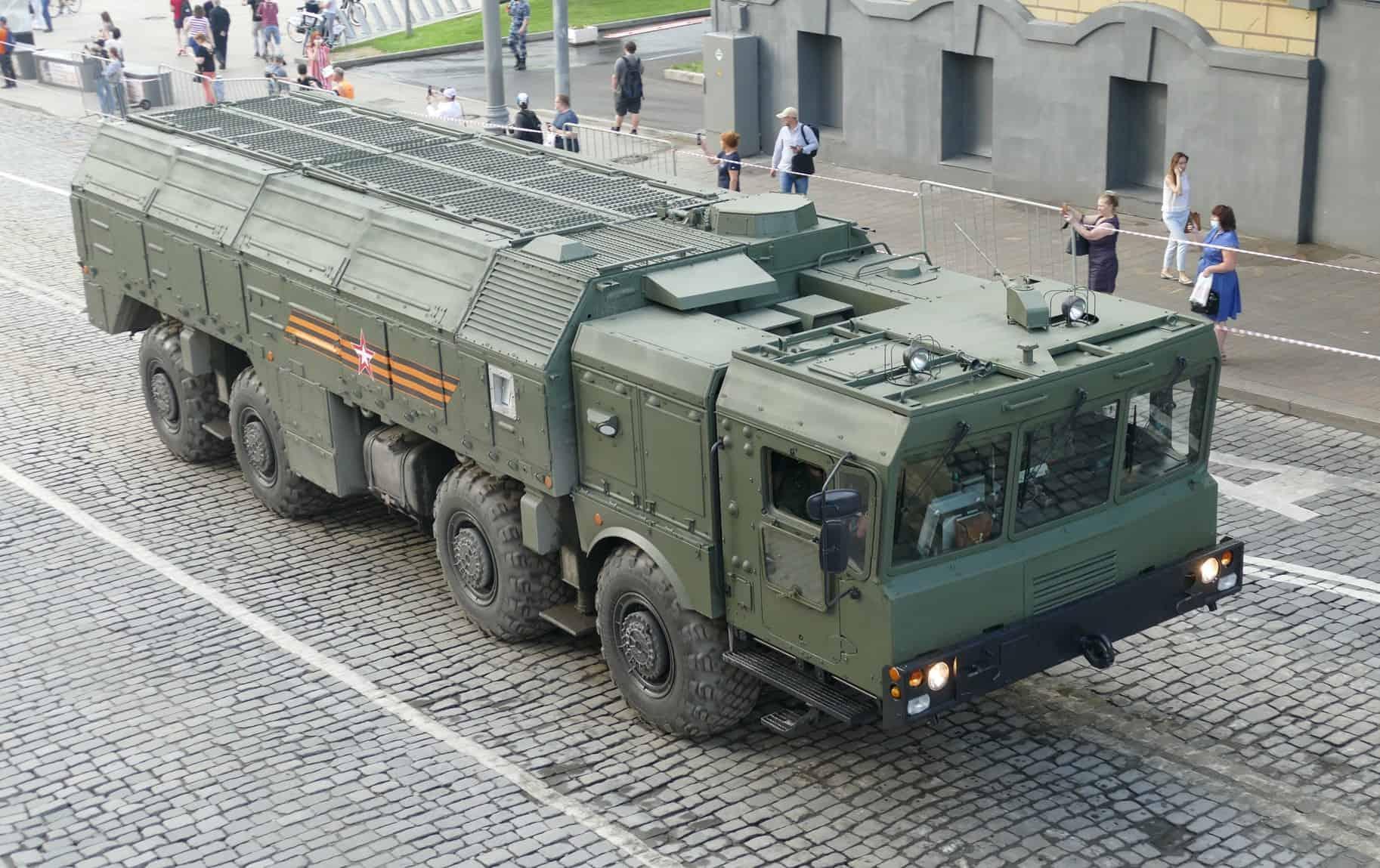 9П78-1 ОТРК Іскандер-М (червень 2020). Фото: ЗМІ РФ