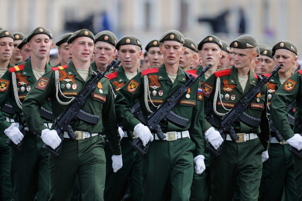 Автомати АК-12 (червень 2020). Фото: ЗМІ РФ