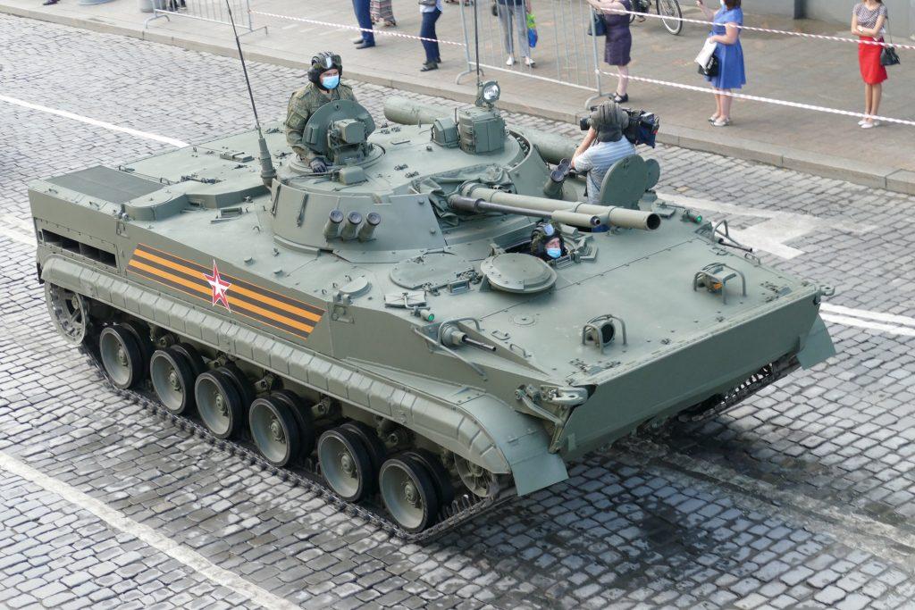 БМП-3 (червень 2020). Фото: ЗМІ РФ