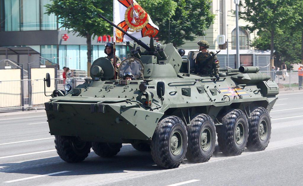 БТР-82АТ (червень 2020). Фото: ЗМІ РФ