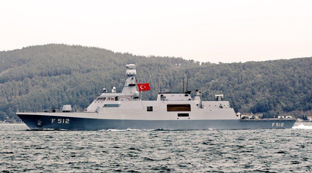 Корвет типу Ada Туреччини. Фото з відкритих джерел