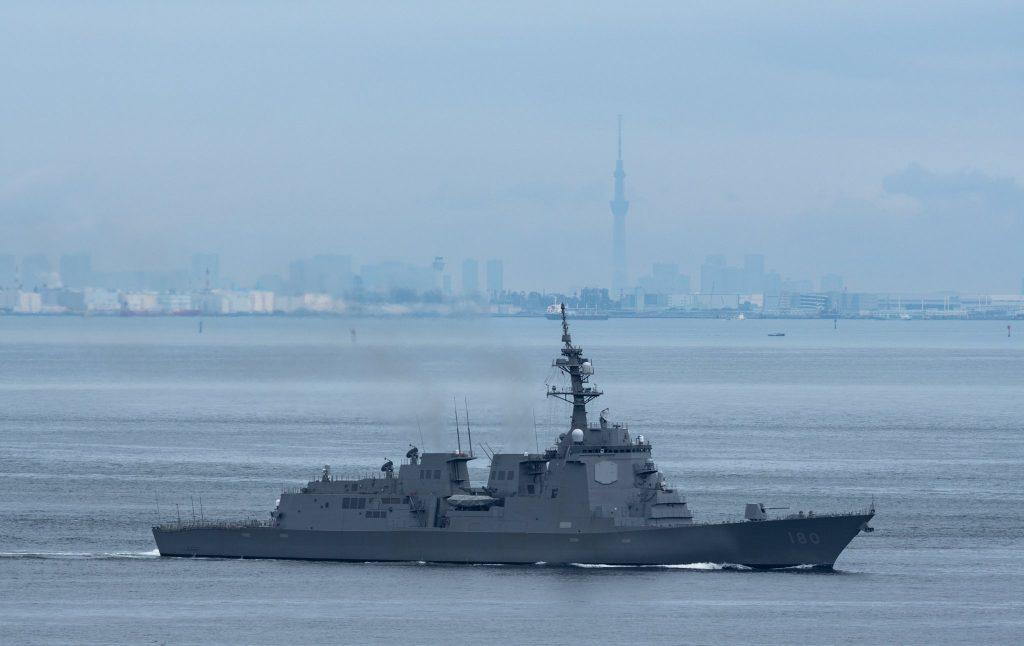 Есмінець Японії «Haguro» (DDG-180). Червень 2020. Фото: ЗМІ Японії