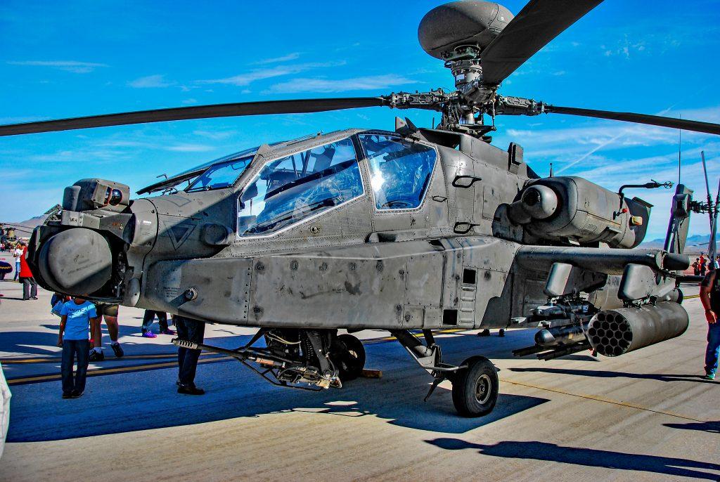 AH-64E Apache. Фото з відкритих джерел