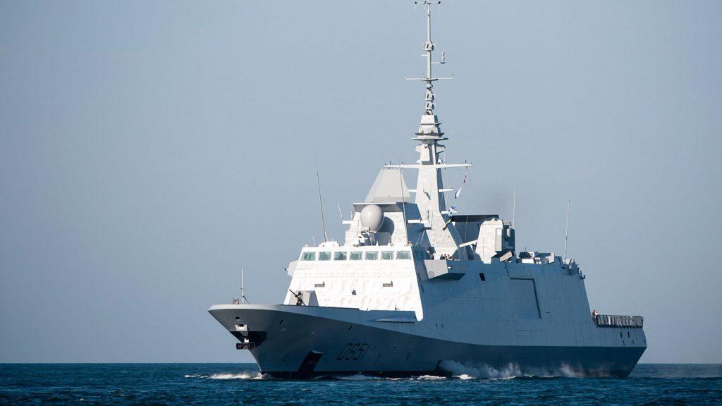 Фрегат класу FREMM «Normandie» (D651). Фото з відкритих джерел