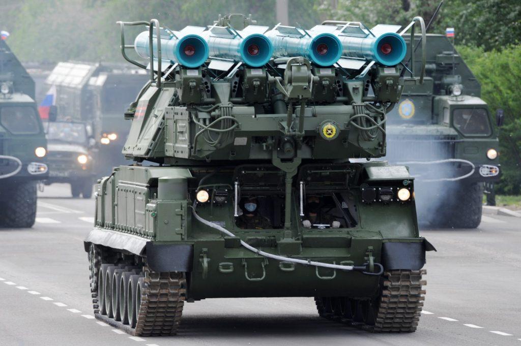 Бук-М1-2 (червень 2020). Фото: ЗМІ РФ