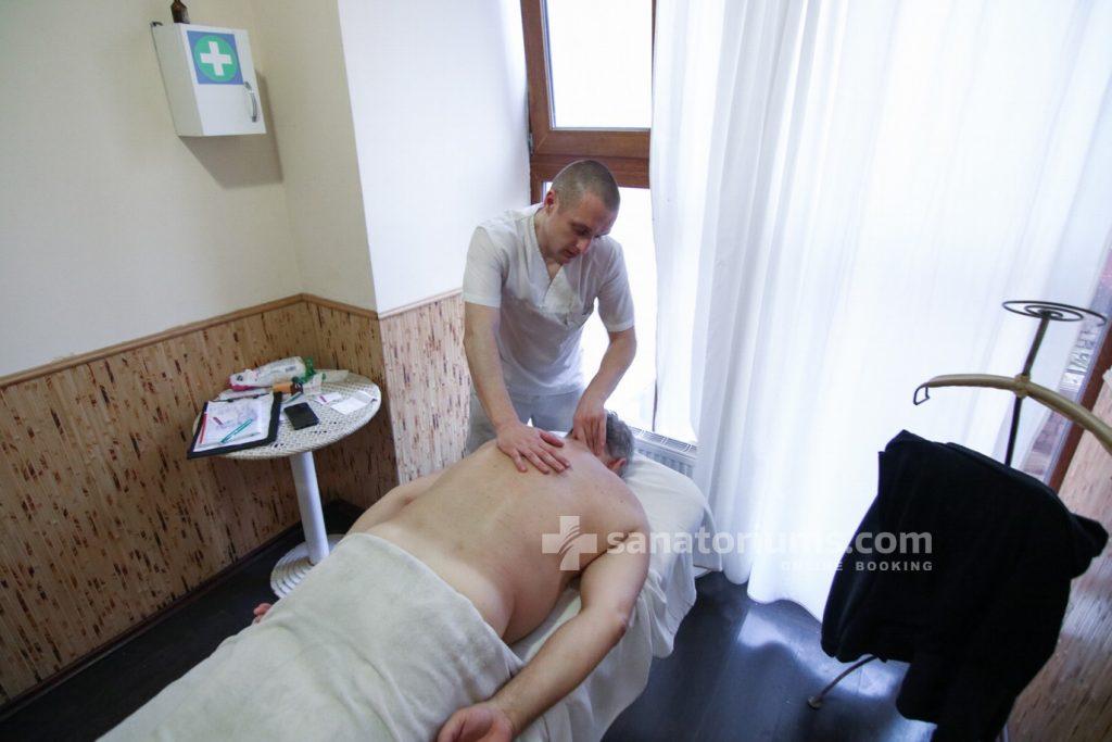 Масажні процедури у санаторії «Женева»